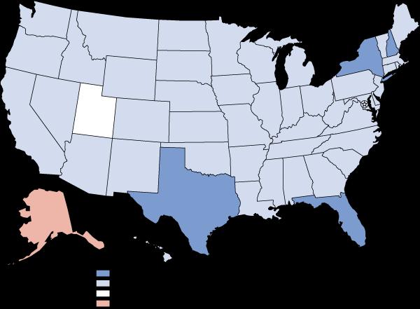 State Estimates Of Adolescent Cigarette Use And Perceptions Of - Tobacco death us map