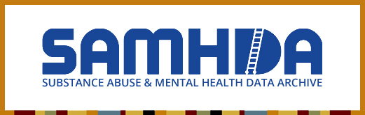 Substance Abuse & Mental Health Data Archive Logo Banner