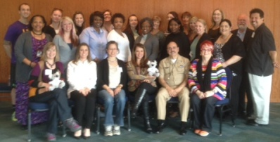 The January 2015 class of new Youth and Adult Mental Health First Aid instructors.