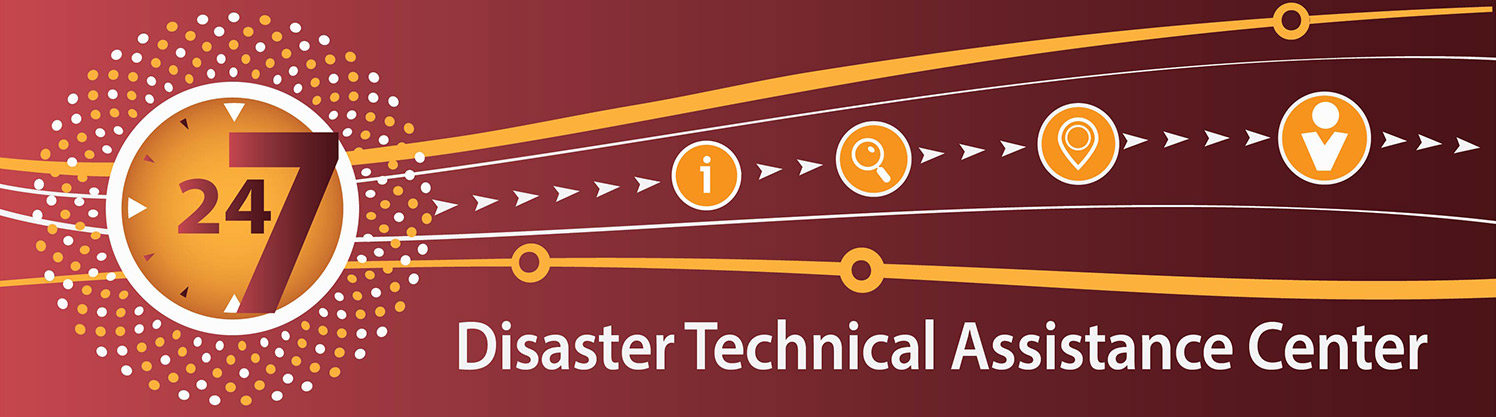 Disaster Technical Assistance Center (DTAC) banner
