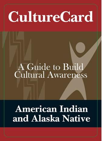 American Indian and Alaska Native Culture Card | SAMHSA