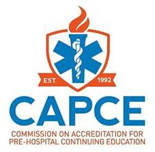 Commission on Accreditation for pre-hospital continuing education (CAPCE) banner