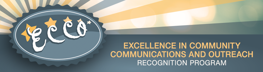 ECCO: Excellence in Community Communications and Outreach Recognition Program