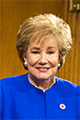 A headshot of Elizabeth Dole