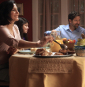Thumbnail of TV PSA, showing a family around the dinner table