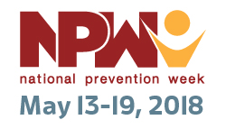 National Prevention Week logo