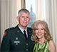 A headshot of Major General (Ret.) Mark and Carol Graham