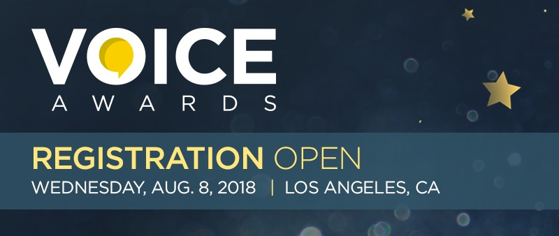 Voice Awards Banner
