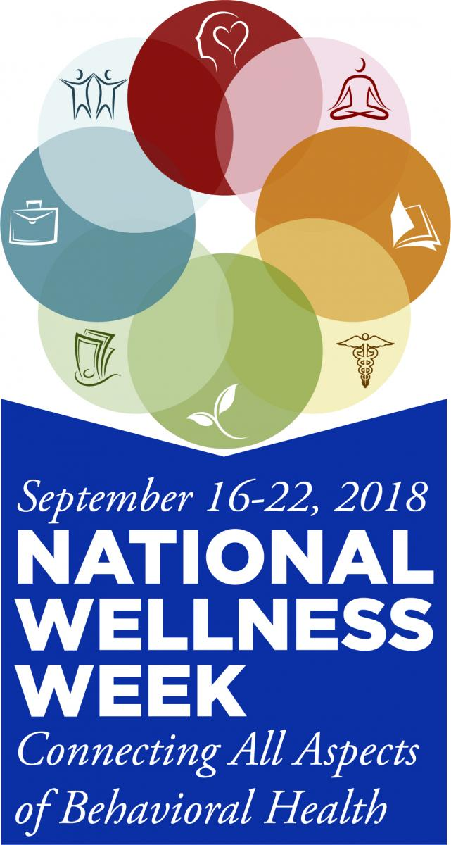 National Wellness Week - Connecting All Aspects of Behavioral Health - September 16-22, 2018 badge