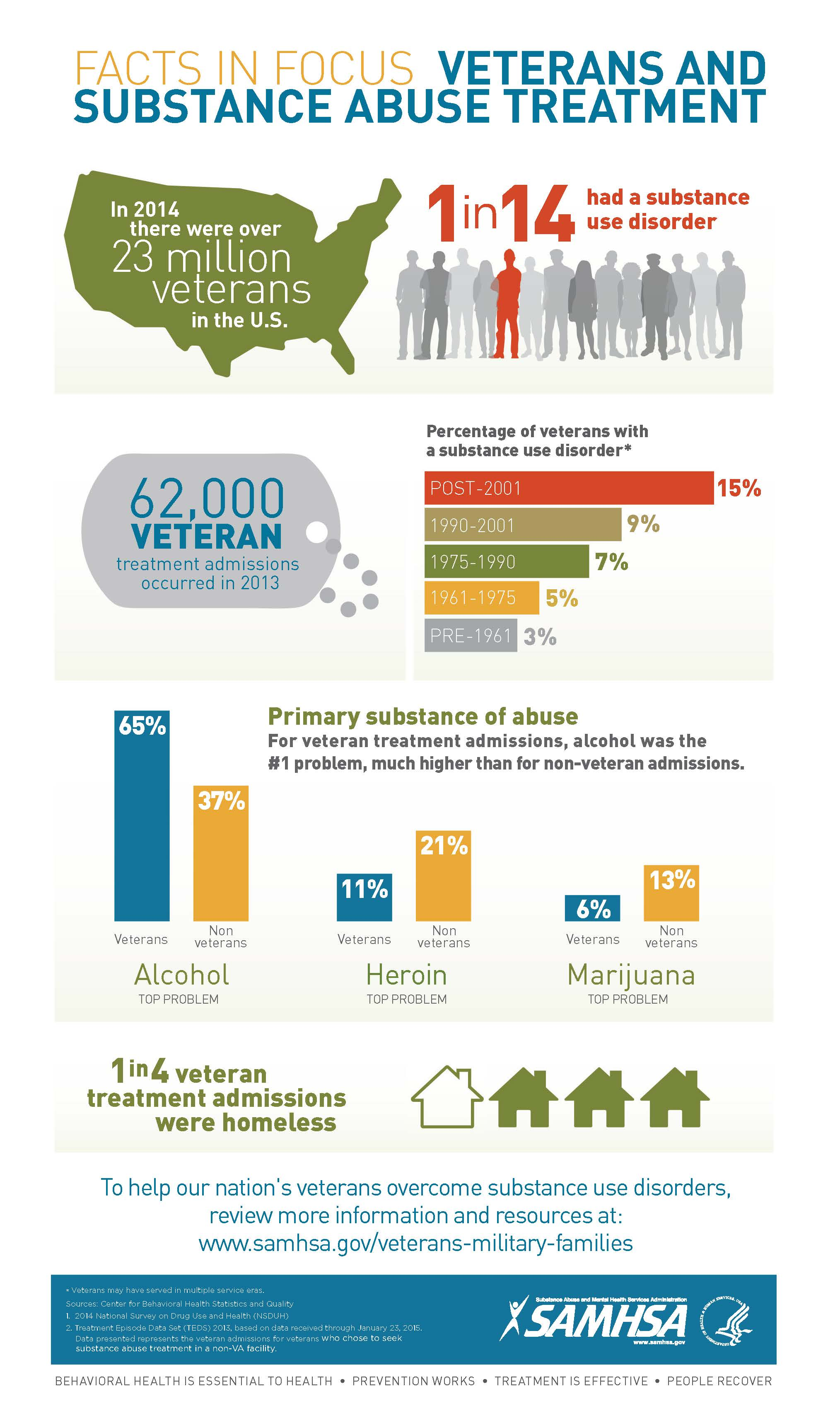 Facts in Focus - Veterans and Substance Abuse Treatment