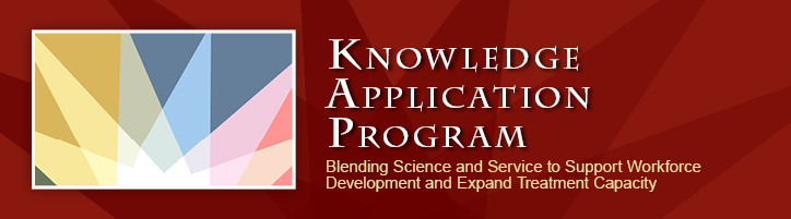 Blending science and service to support workforce development and expand treatment capacity