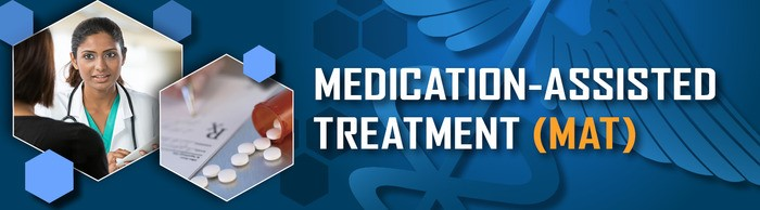 Image of the Medication-Assisted Treatment Center banner.