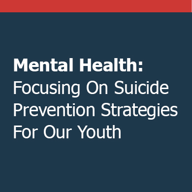 Suicide Prevention Strategies For Youth
