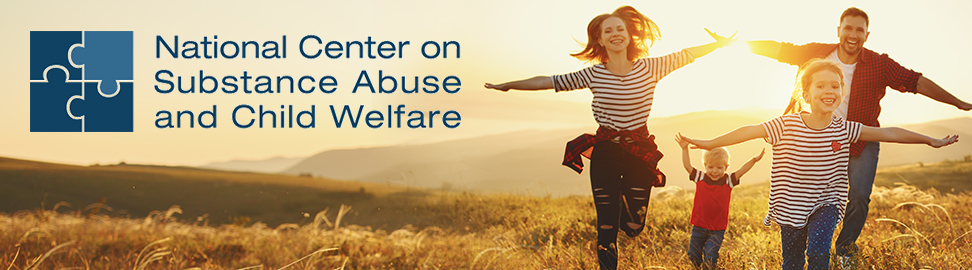 National Center on Substance Abuse and Child Welfare (NCSACW) Banner