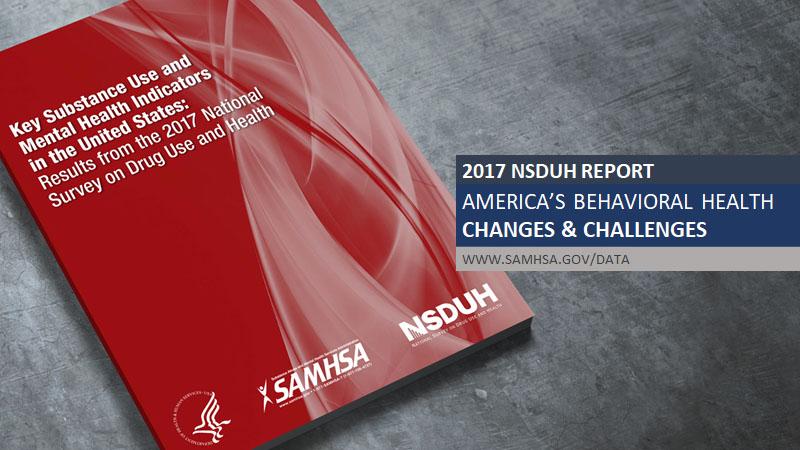 2017 NSDUH Report - America's Behavioral Health Changes & Challenges