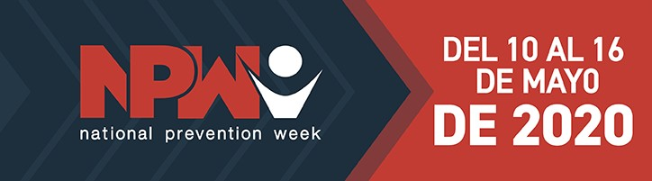 National Prevention Week 2020
