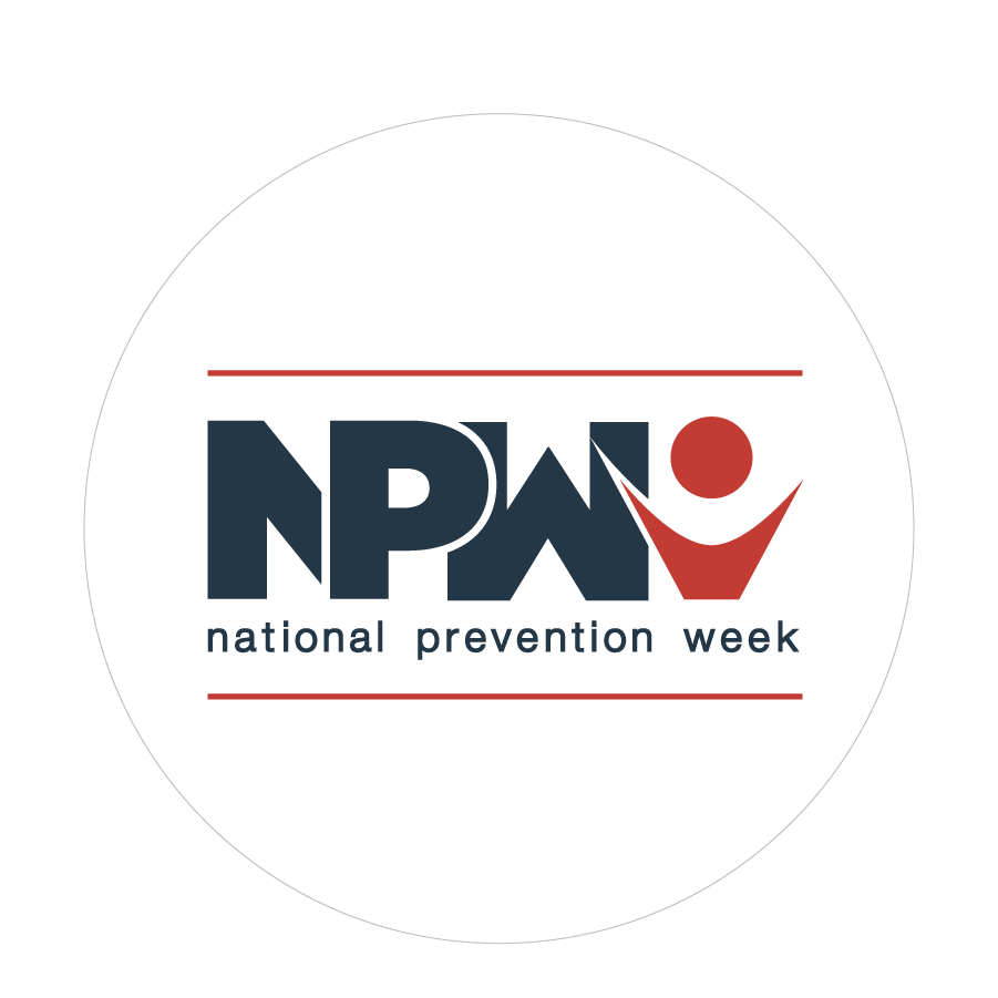 National Prevention Week Sticker without dates