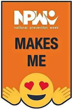 NPW National Prevention Week Emoji
