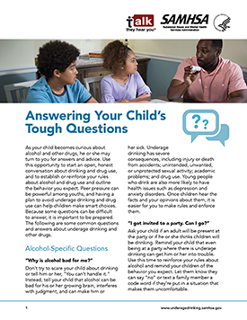 Answering Your Child's Tough Questions