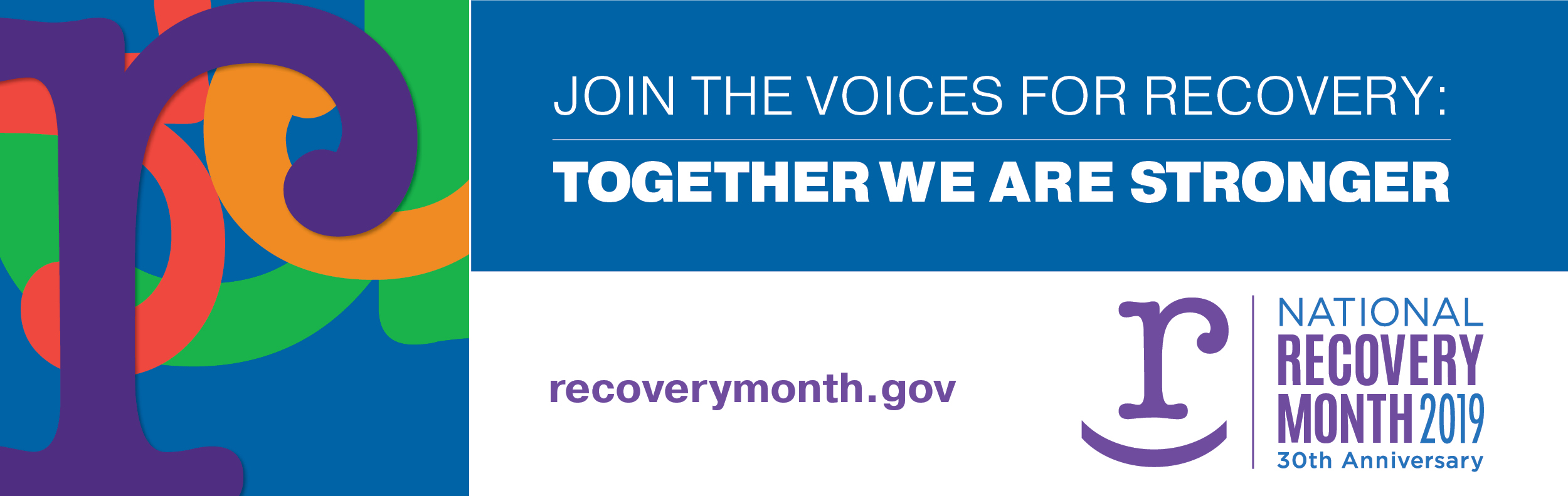 National Recovery Month 2019