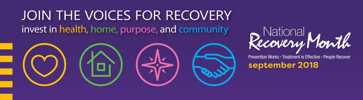 Join The Voices For Recovery Invest In Health Home Purpose Community