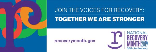 Recovery Month 2019