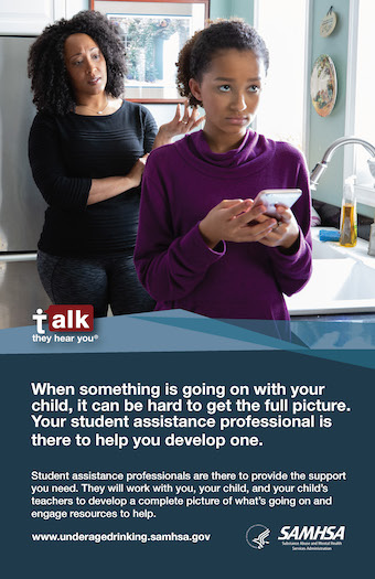 Talk They Hear You Parents and Caregivers Poster Thumbnail