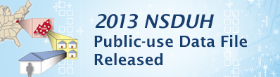 2013 NSDUH Public Data Files