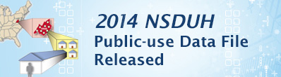 2014 NSDUH Public Data Files