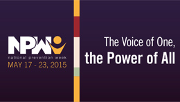 NPW 2015 Logo in Purple
