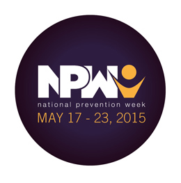 NPW 2015 round purple sticker