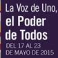 2015 La Semana Nacional de Prevención del 17 al 23 de Mayo. Nuestras vidas. Nuestra salud. Nuestro futuro.