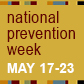National Prevention Week thumbnail