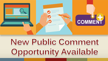 New Public Comment Opportunity Available