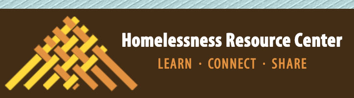 Homelessness Resource Center - Learn. Connect. Share.
