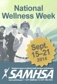 National Wellness Week: September 15-21, 2014