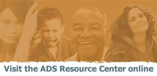 Visit the ADS Resource Center online today