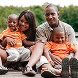 African American family