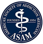American Society of Addiction Medicine (ASAM)  logo