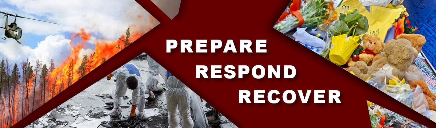 prepare. respond. recover