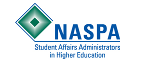 Student Affairs Administrators in Higher Education (NASPA) logo