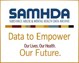 SAMHDA badge - Data to Empower. Our Lives. Our Health. Our Future