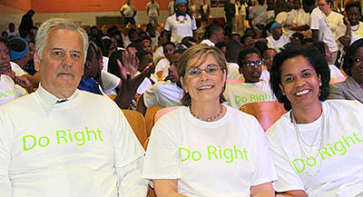 Guest speakers at a National Prevention Week 2014 event