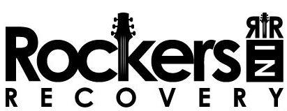 Rockers In Recovery (RIR) logo