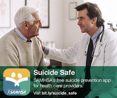 SAMHA's Suiside Safe app