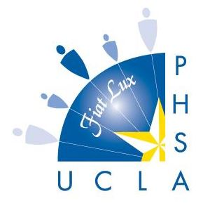 University of California, Los Angeles (UCLA) Public Health Student Association (PHSA) logo