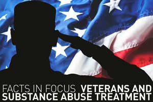 Facts in focus. Veterans and substance abuse treatment.