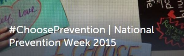 Choose Prevention hashtag