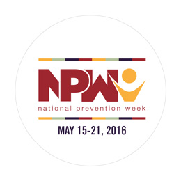 National Prevention Week promotional image