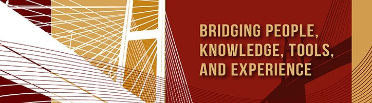 Recovery to Practice banner with text that reads: Bridging people, knowledge, tools, and experience